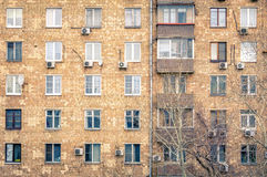 Moscow windows Royalty Free Stock Image