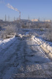 Moscow winter Stock Photography