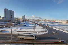 Moscow in winter Stock Photography