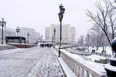 Moscow. Winter landscape Stock Image
