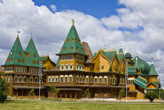 Moscow, wooden palace Stock Photos