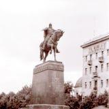 Moscow Yury Dolgoruky Monument July 1962 Royalty Free Stock Photography