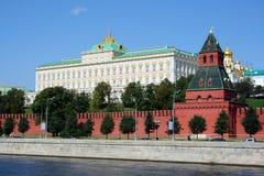 Moscowen Kremlin Arkivfoton