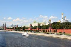 Moscowen Kremlin arkivfoto