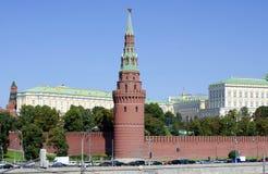 Moscowen Kremlin. Royaltyfri Bild