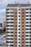 A moscower multi-etage house. A new-builded mutli-etage house in moscower district Stock Photos