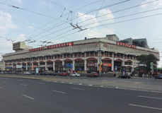 Moscowskiy department store in Komsomolskaya square, Moscow Royalty Free Stock Images