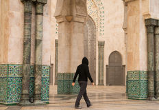 Moscque in Casablanca Stock Photography