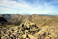 Mosedale and Wasdale Royalty Free Stock Images