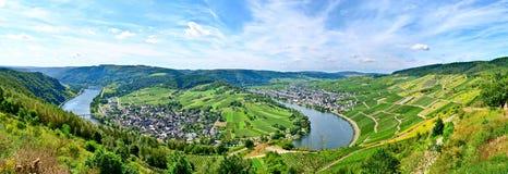 Mosel-Fluss Deutschland Stockfoto