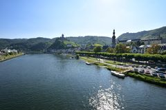Mosel River Royalty Free Stock Photos