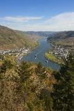 Mosel valley Royalty Free Stock Photography