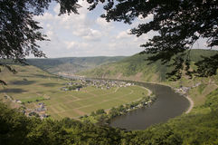 Mosel valley Royalty Free Stock Images