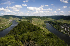 Mosel valley Royalty Free Stock Image