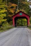 Moseley-überdachte Brücke - Vermont Lizenzfreie Stockbilder