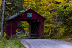 Moseley Covered Bridge - Vermont Stock Photography