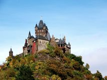 mosella της Γερμανίας κάστρων cochem Στοκ φωτογραφία με δικαίωμα ελεύθερης χρήσης