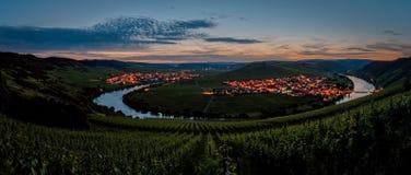 Moselle ögla Royaltyfri Bild