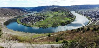 Moselle loop royalty free stock photography