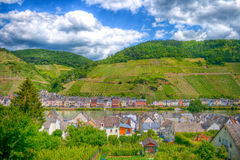 Moselle river valley Stock Photo