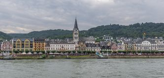 The Moselle Valley, its villages, its nature royalty free stock images