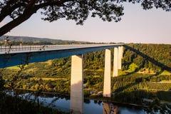 Moseltalbrucke. Rhineland-Palatinate, Germany Stock Photography