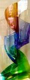Moser玻璃制造业在卡洛维变化 免版税图库摄影