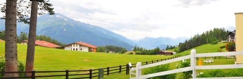 Mosern, Österreich stockfotografie