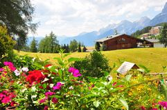 Mosern, Austria Royalty Free Stock Photos