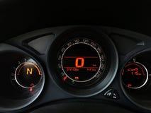Mosern car dashboard Royalty Free Stock Photo