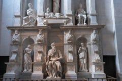 Moses com chifres Imagem de Stock Royalty Free