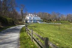 Moses Cone Memorial Park, Ridge Parkway azul, NC Foto de archivo
