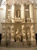 Moses de Michelangelo Foto de archivo libre de regalías