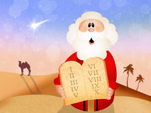 Moses in the desert Stock Photography