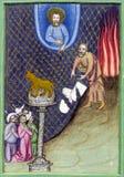 Moses, el decálogo y el becerro de oro Fotos de archivo libres de regalías