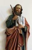 Moses. Holding the Ten Commandments Royalty Free Stock Photo