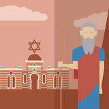 Moses icon 2 Stock Photo