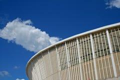 THE MOSES MABHIDA STADIUM AGAINST BLUE SKY AND CLOUD Stock Photos