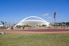 Moses Mabhida Stadium as Viewed from Durban Promenade Royalty Free Stock Image