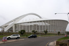 Moses Mabhida stadium. DURBAN - NOVEMBER 29: the Moses Mabhida stadium of Durban on November 29, 2009 in Durban, South Africa. It was one of the host stadiums Royalty Free Stock Photography
