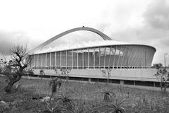 Moses Mabhida stadium. DURBAN - NOVEMBER 26: the Moses Mabhida stadium of Durban on November 26, 2009 in Durban, South Africa. It was one of the host stadiums Stock Photography