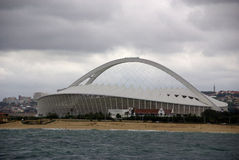 Moses Mabhida stadium. DURBAN - NOVEMBER 26: the Moses Mabhida stadium of Durban on November 26, 2009 in Durban, South Africa. It was one of the host stadiums Stock Photos
