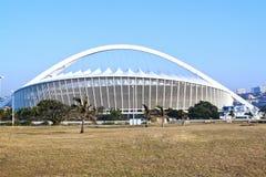 Moses Mabhida Stadium in Durban South Africa. DURBAN, SOUTH AFRICA - JULY 2, 2014: Moses Mabhida football stadium in Durban, South Africa Stock Images