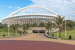Moses Mabhida Stadium a Durban Sudafrica Fotografia Stock Libera da Diritti