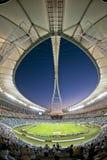 Moses Mabhida Stadium Durban World kopp Royaltyfri Fotografi
