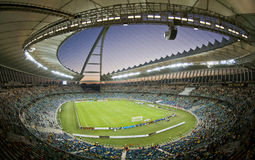 Moses Mabhida Stadium World Cup. Moses Mabhida Stadium was one of the stadiums used during the 2010 World Cup royalty free stock image