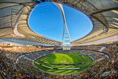 Moses Mabhida Stadium World Cup. Moses Mabhida Stadium was one of the stadiums used during the 2010 World Cup Royalty Free Stock Photos