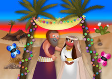 Moses Marries Royalty Free Stock Photography
