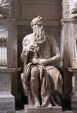 Moses by Michelangelo Royalty Free Stock Photos