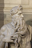 Moses by Michelangelo Stock Photography